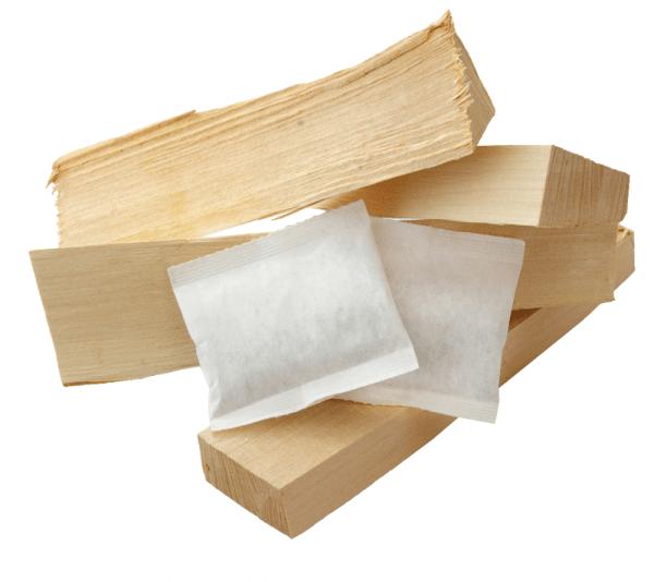 Zündkissen Feueranzünder für Grill & Kamin ~ Umweltfreundlich aus recyceltem Altpapier und Wachs