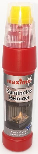 1x Spezial maximo Kaminglas Reiniger gegen Ruß und Schmutz 200ml