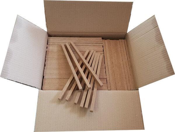 Brunner Fidibusse Großpackung je 350 Anzünder - Das Original von Brunner - Artikel hier auswählen: 3x Großpackung Fidibusse (1050 Stück)