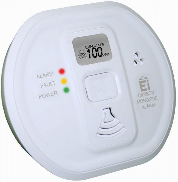 Ei207D-D Kohlenmonoxidwarnmelder mit elektrochemischem Sensor und Display
