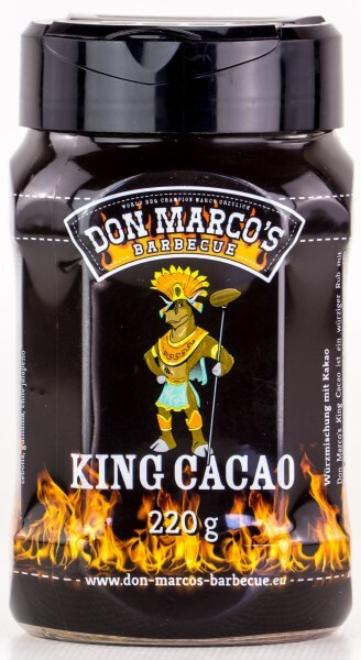 Grillgewürze Don Marcos King Cacao BBQ Rub 180g