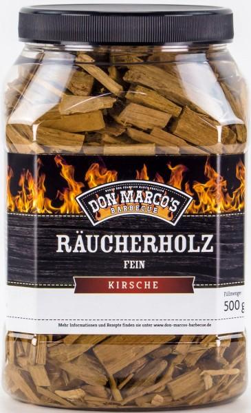Räucherholz FEIN aus 100 % reinem Kirsch-Holz - verleiht Ihren Speisen ein authentisches BBQ Aroma