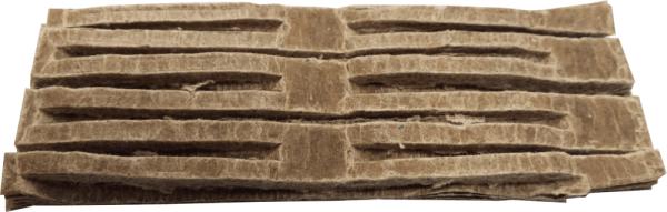 Zündgitter Feueranzünder für Grill & Kamin ~ Umweltfreundlich aus recyceltem Altpapier und Wachs