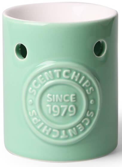 Scentburner - Wachs - Schmelzlampe - Aroma-Schmelzlicht - Brenner - Mintgreen w8 x d8 x h10cm