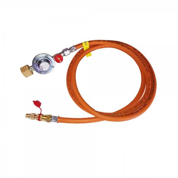 5m Adapter Set für COBB Premier Gasgrill zum Anschluss auf 5kg - 11kg - 33kg Gasflasche (CG5000)
