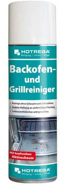 HOTREGA Kraftvoller Backofen und Grill Aktivschaum Reiniger 300 ml