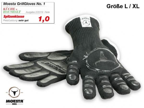 GrillGloves No. 1 - Die Grillhandschuhe der Profis - Größe L / XL