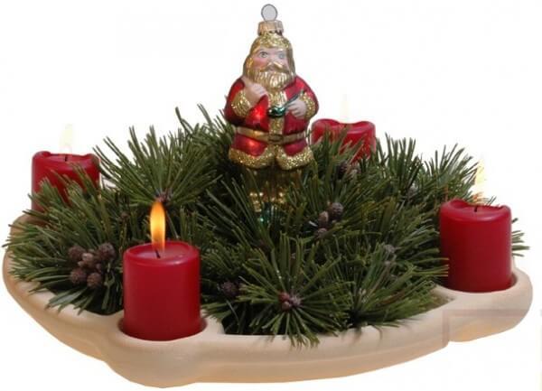 Leuchterschale aus CeraNatur®-Keramik - LSA