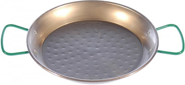 Stahlpfanne mit Pfannenhaltern für das Zwergenfeuer - ZF-PK