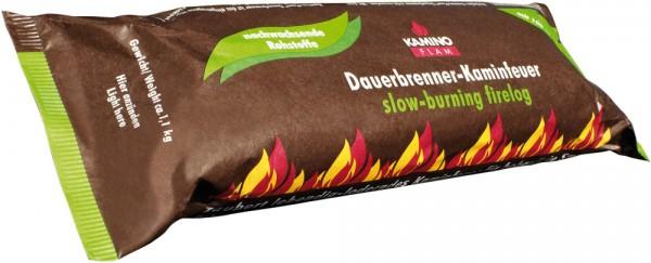 Dauerbrenner Kaminfeuerscheit 100 % nachwasende Rohstoffe aus Palmöl