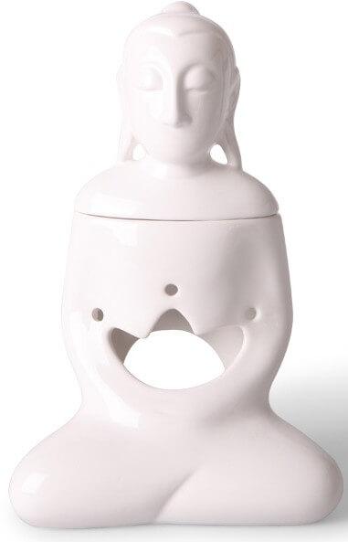 Scentburner - Wachs - Schmelzlampe - Schmelzlicht - Buddha White h24 x d15cm