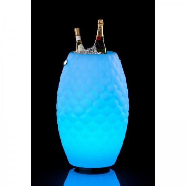 The Joouly LTD 65 - Bluetooth Lautsprecher mit Licht in 9 wechselbaren Farben - Getränkekühler