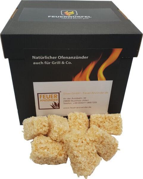 Feuerwürfel für Kamin & Ofen & Grill (1 kg)