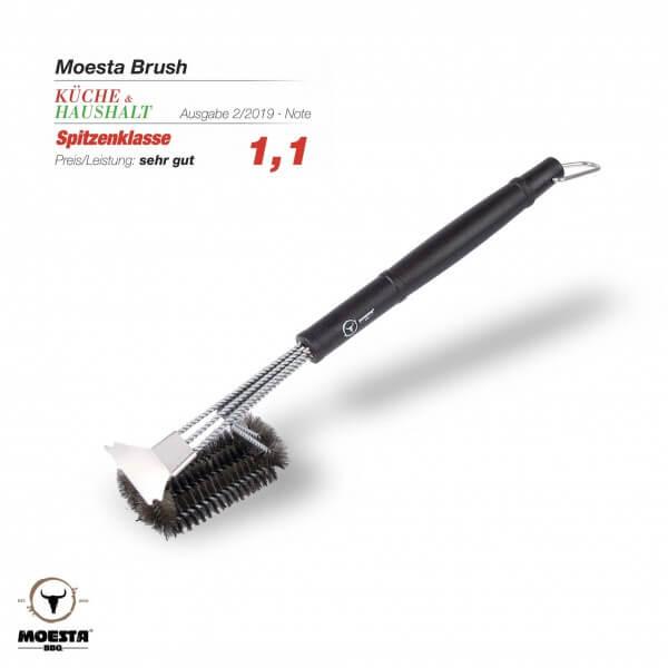 BBQ Brush No. 1 - Die 100% Edestahlbürste unter den Grillbürsten