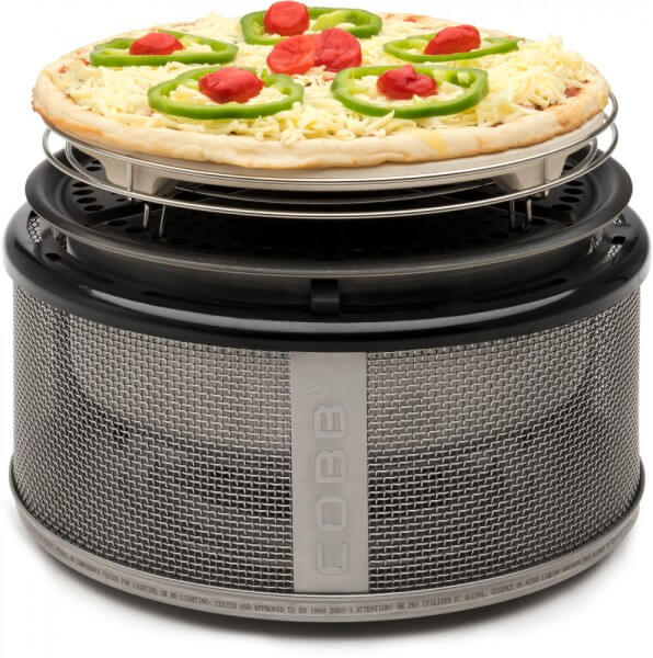 Pizzaplatte ~ Pizzastein Ø 26cm für Holzkohle und Gas Cobbgrill (CO69)
