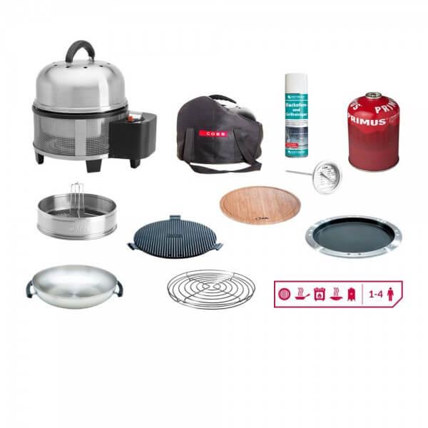 Cobb Premier Gas Grill ~ Multifunktionsküche (CO700) - Artikel hier auswählen: 8 ~ Gas Set ~ 11 - teilig