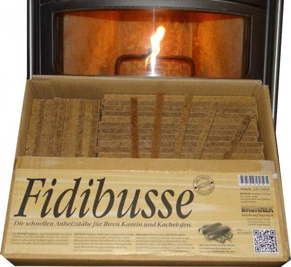 Brunner Fidibusse Großpackung (350 Anzünder) - 1x Großpackung Fidibusse (350 Stück)