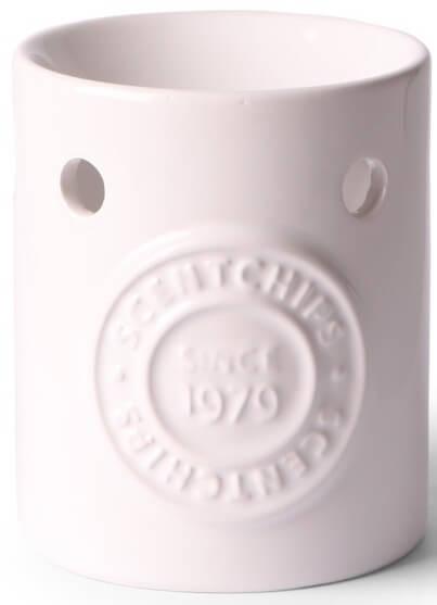 Scentburner - Wachs - Schmelzlampe - Aroma-Schmelzlicht - Brenner - White w8 x d8 x h10cm